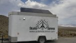 Solar Trailer at Primm, NV