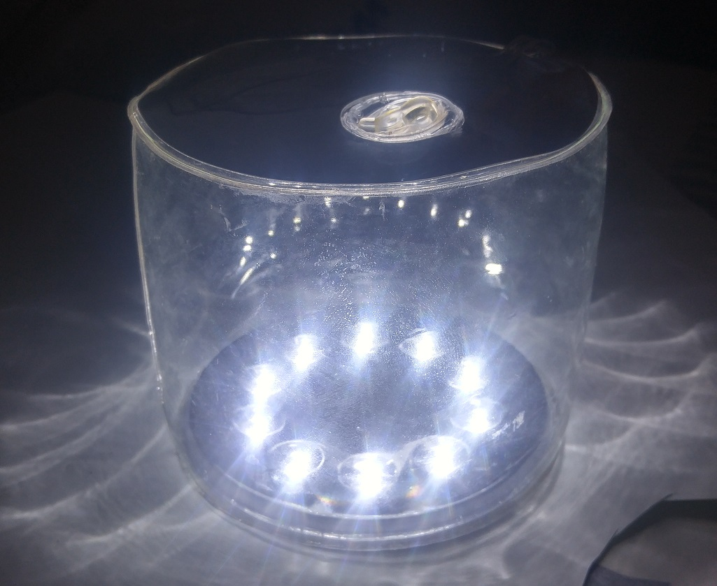 Rechargeable Emergency Light Solar Lantern at Night