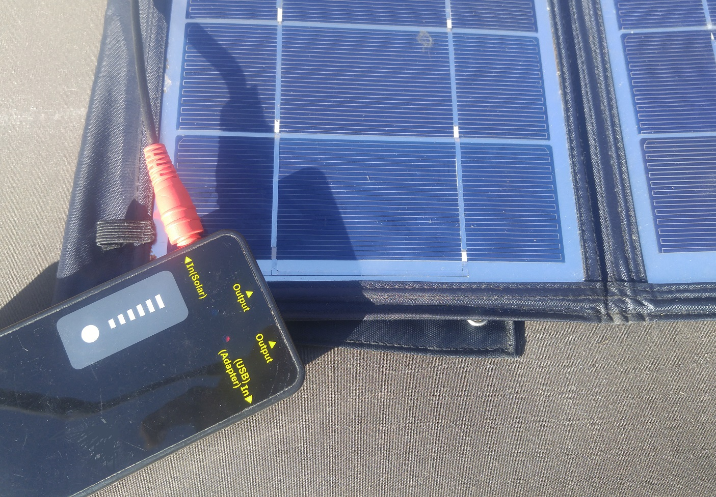 Survival Gear Checklist -Portable Solar Panel