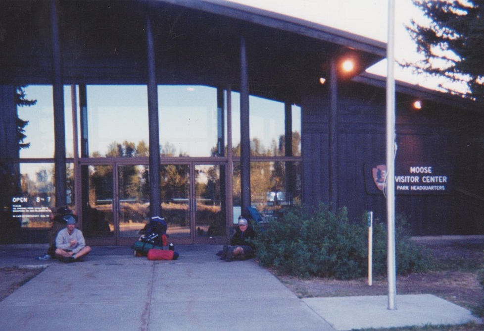 Backpacking the Grand Tetons Moose Visitor Center