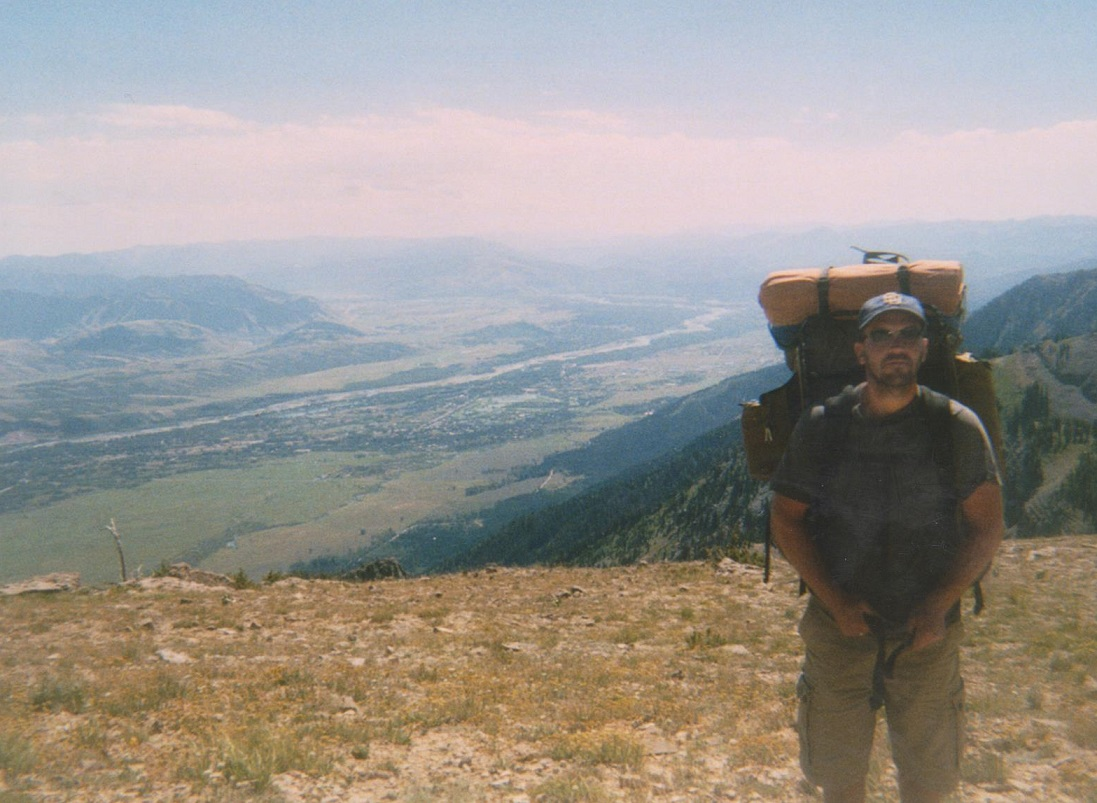 Backpacking the Grand Tetons above the Snake River