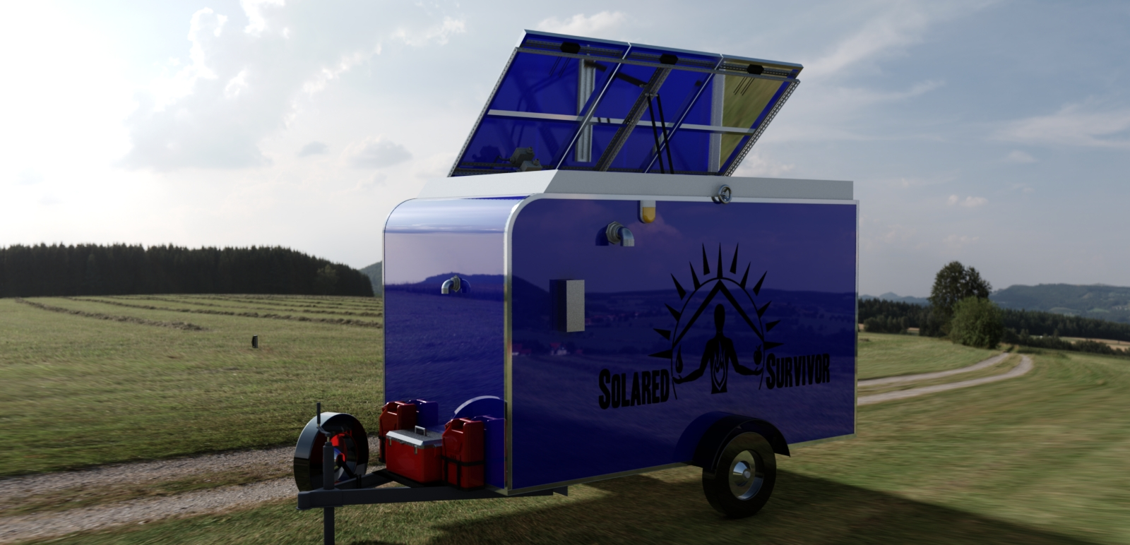 Mobile Survival Shelter