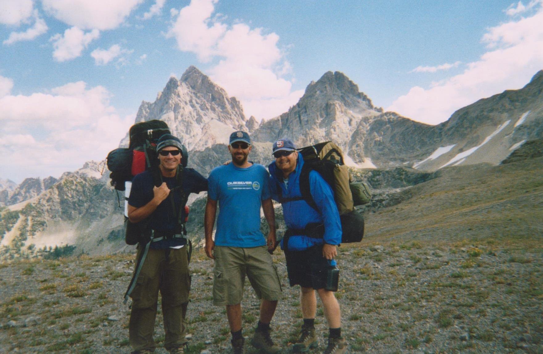 Backpacking the Grand Tetons Hurricane Pass