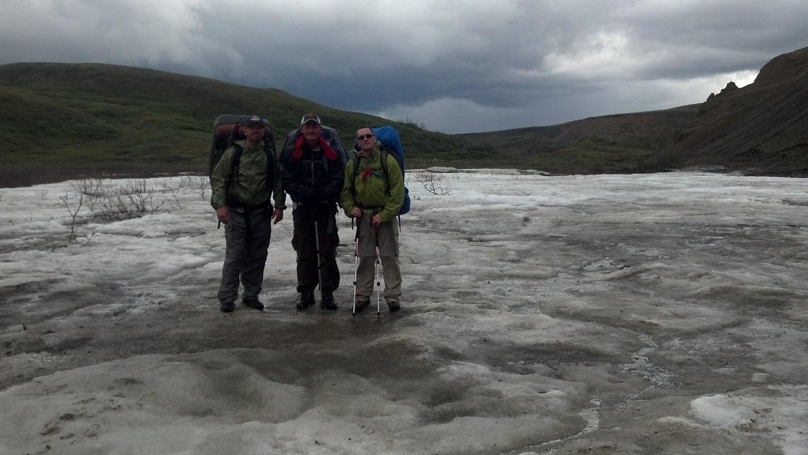 Backpacking Denali Glacier