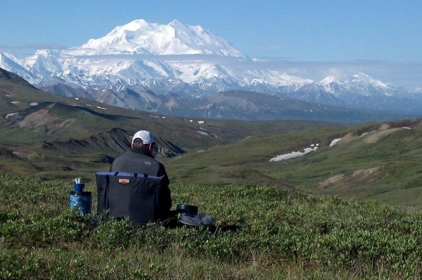 Backpacking Denali Mount McKinley