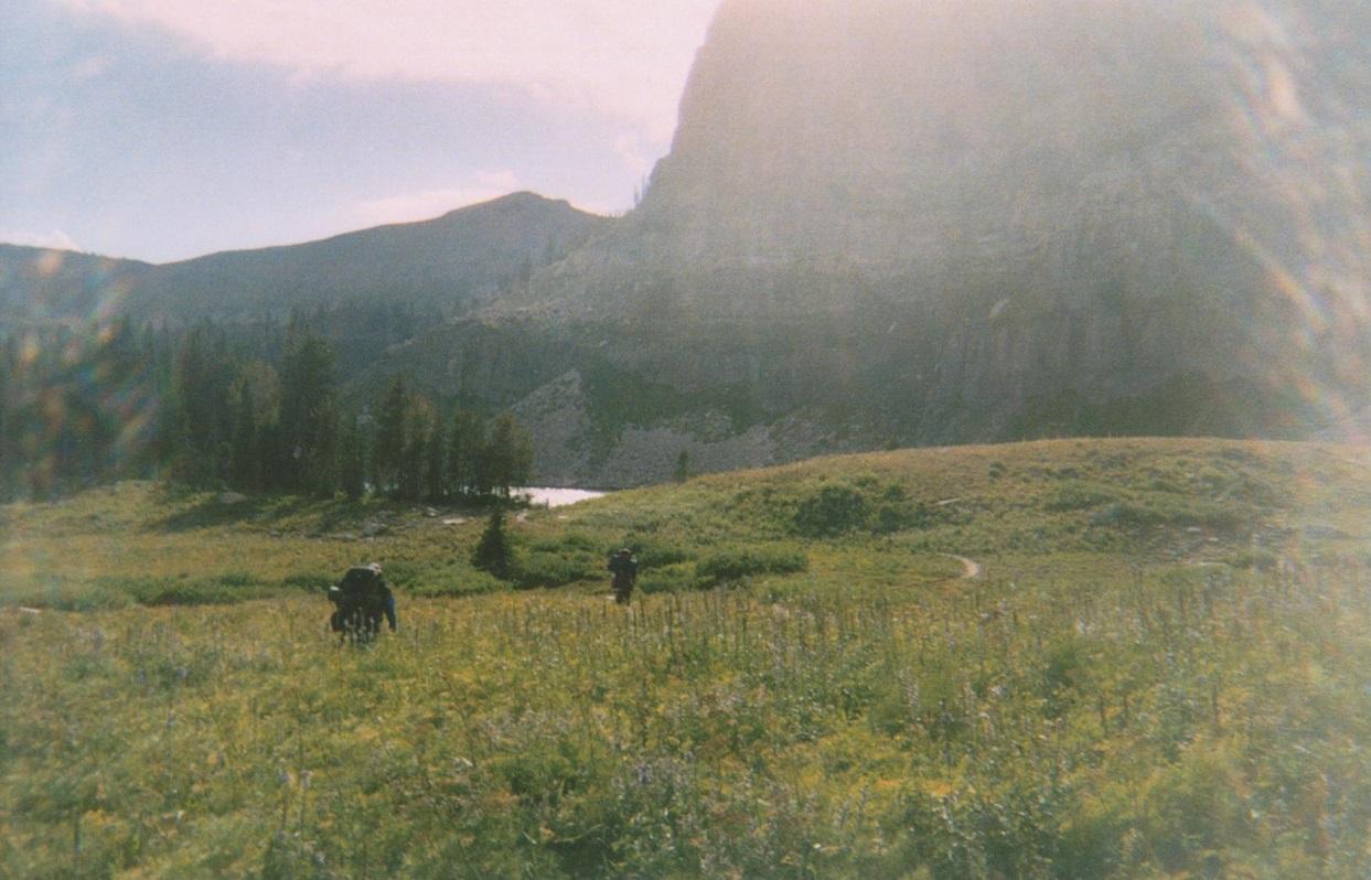 Backpacking the Grand Tetons Marion Lake