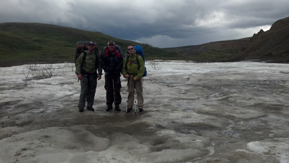 Backpacking Denali Glacier