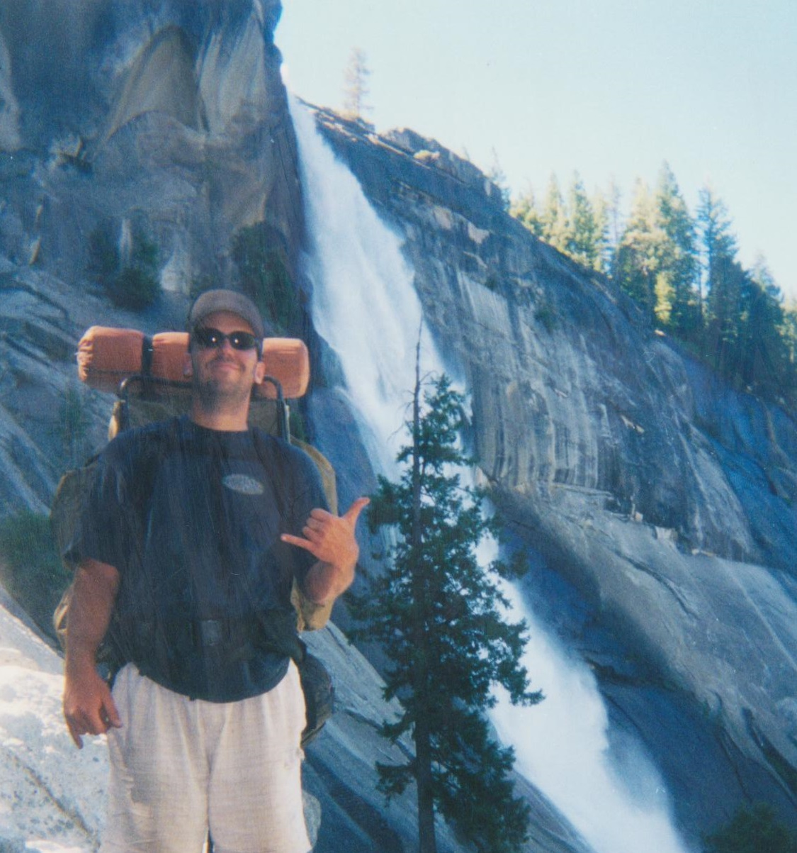 Backpacking Yosemite Nevada Fall