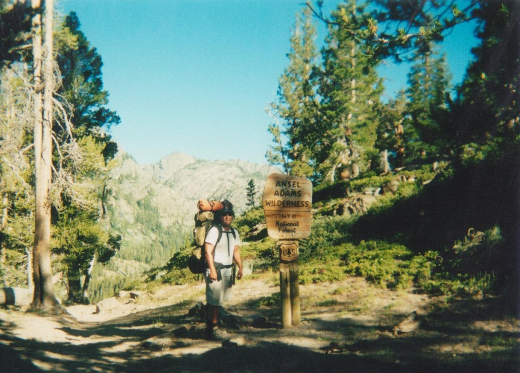 Backpacking Yosemite Ansel Adams Trailhead