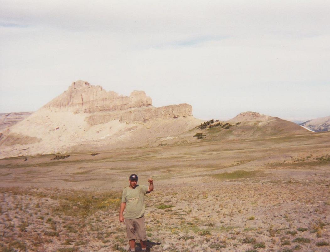 Backpacking the Grand Tetons Battleship Mountain
