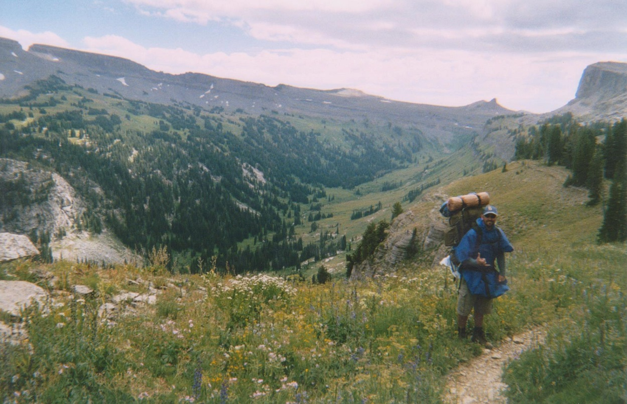 Backpacking the Grand Tetons Death Canyon Shelf