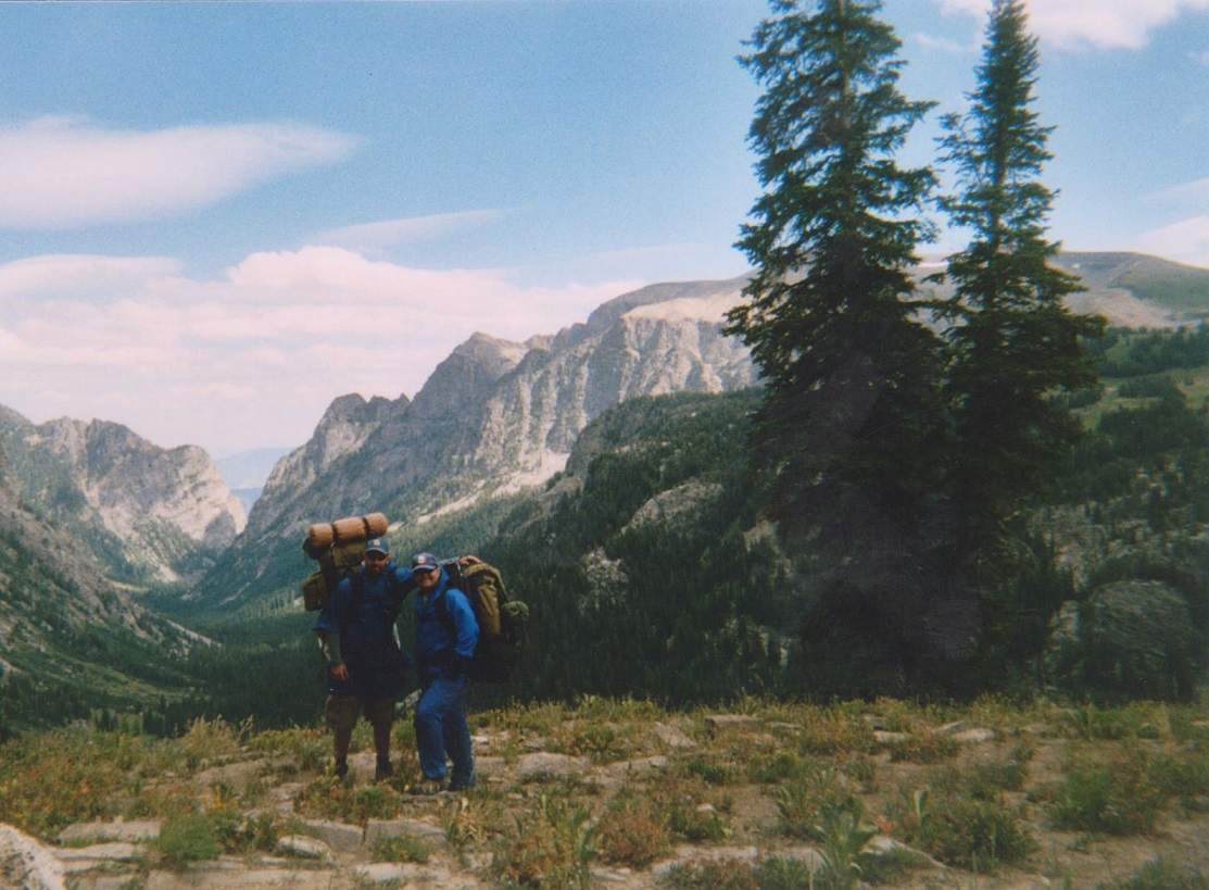 Backpacking the Grand Tetons Death Canyon