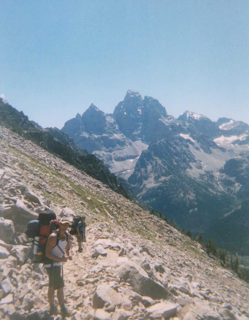 Backpacking the Grand Tetons Cascade Canyon