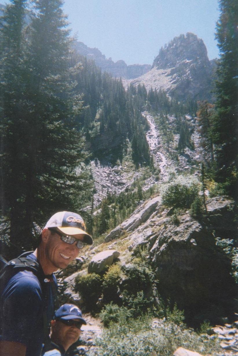 Backpacking the Grand Tetons Paintbrush Canyon