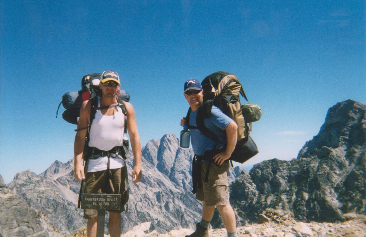 Backpacking the Grand Tetons Paintbrush Divide