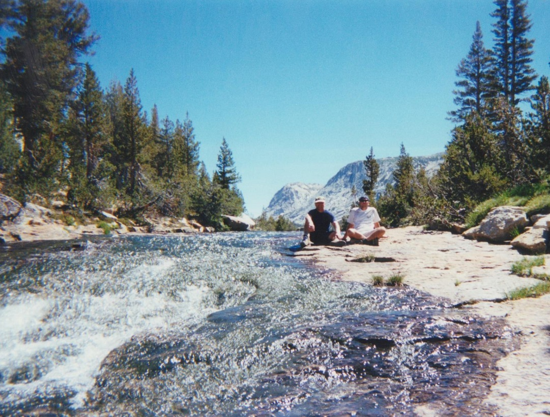 Backpacking Yosemite River Bed
