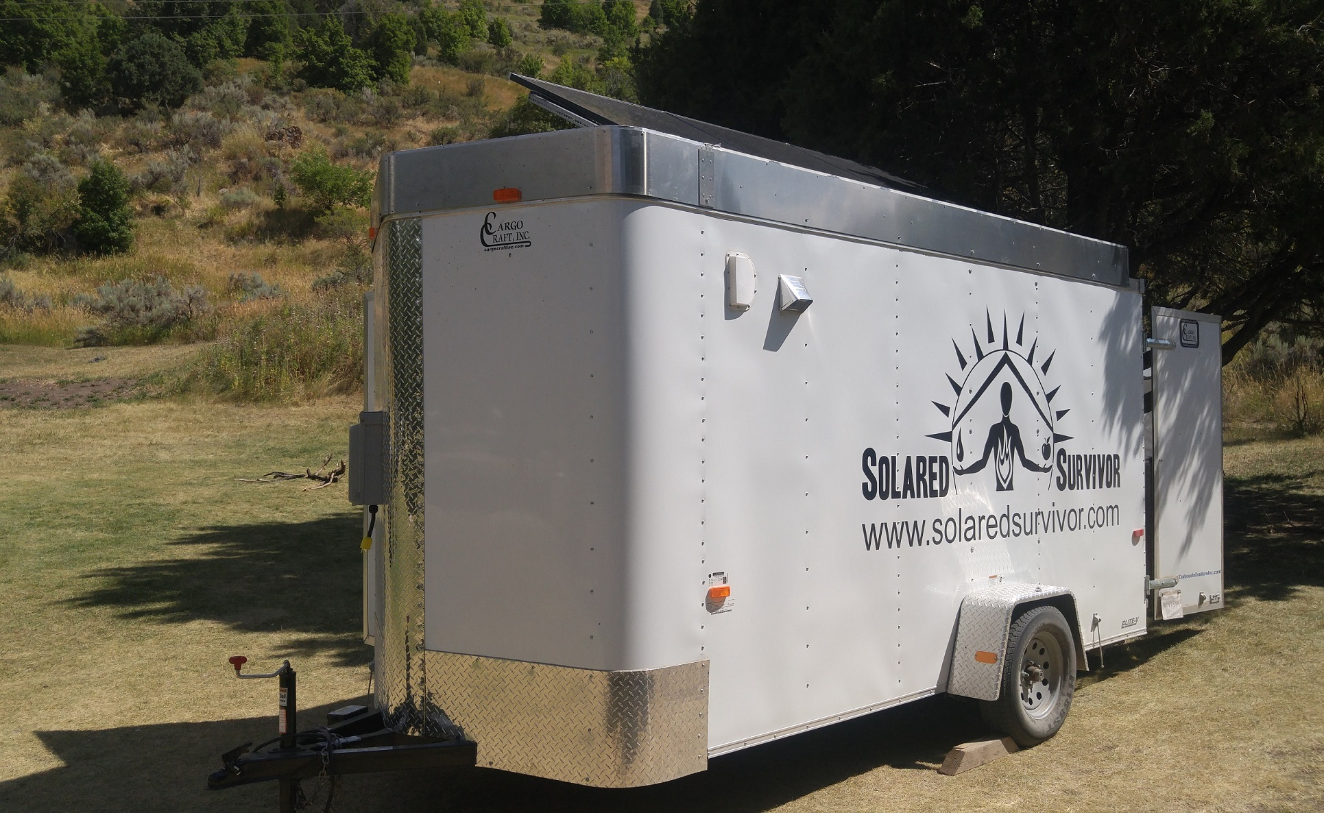Solar Trailer at Idaho