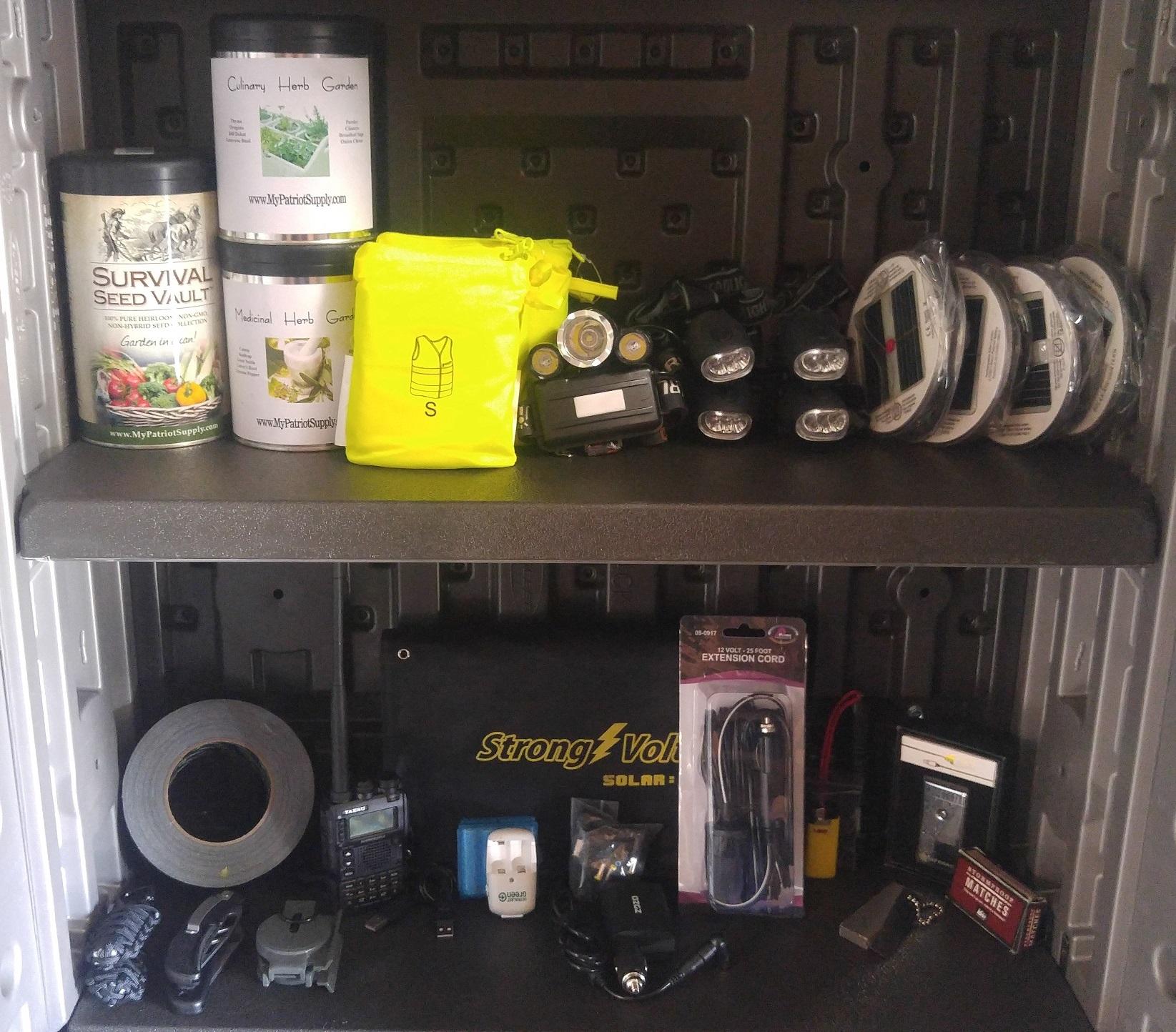 Solared Survivor Survival Cabinet 1