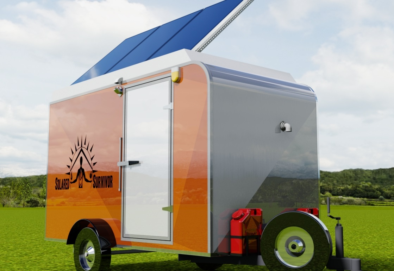 Emergency Home Generator - Solar Trailer Generator