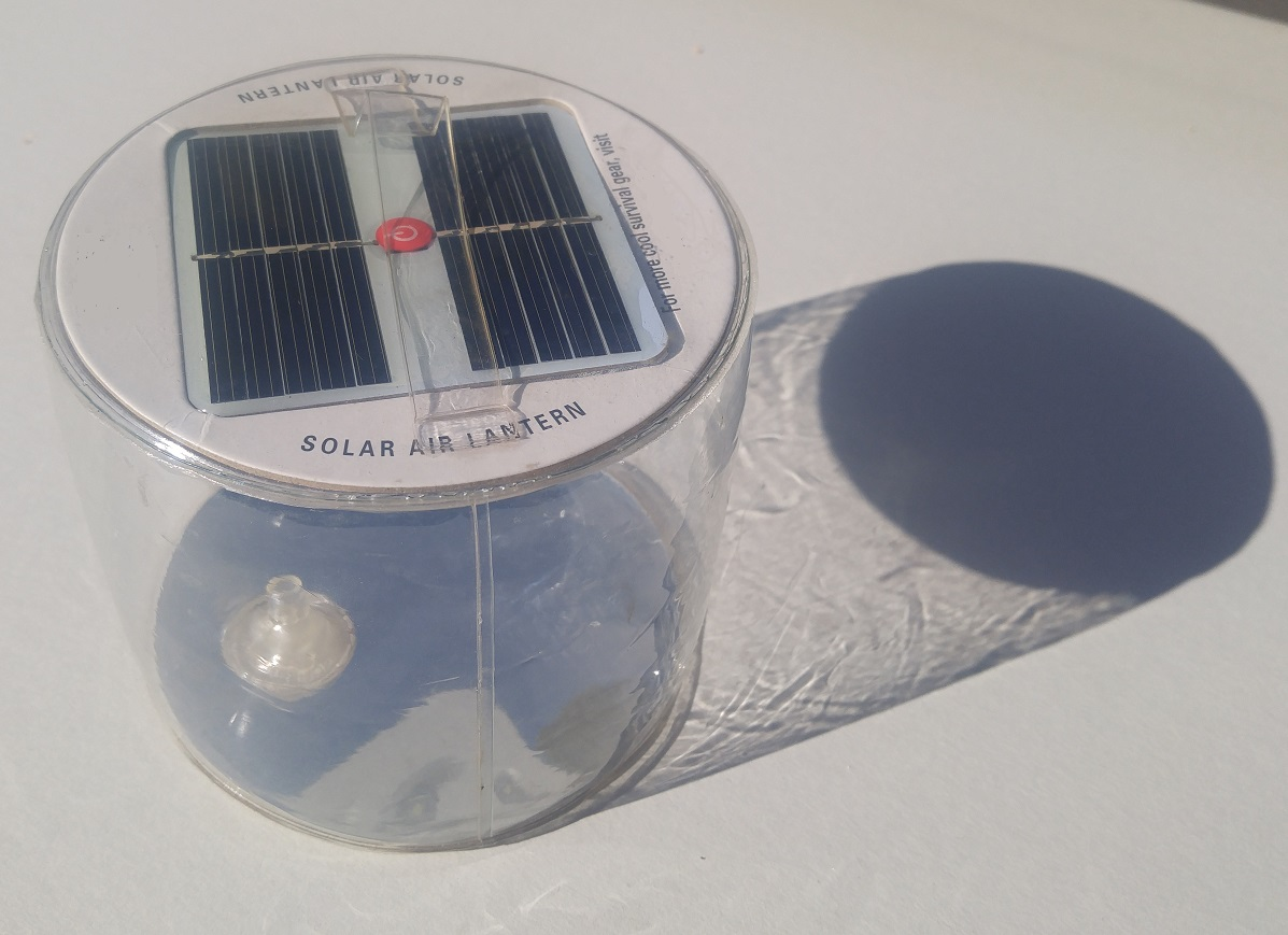 Rechargeable Emergency Light Solar Lantern Inflated