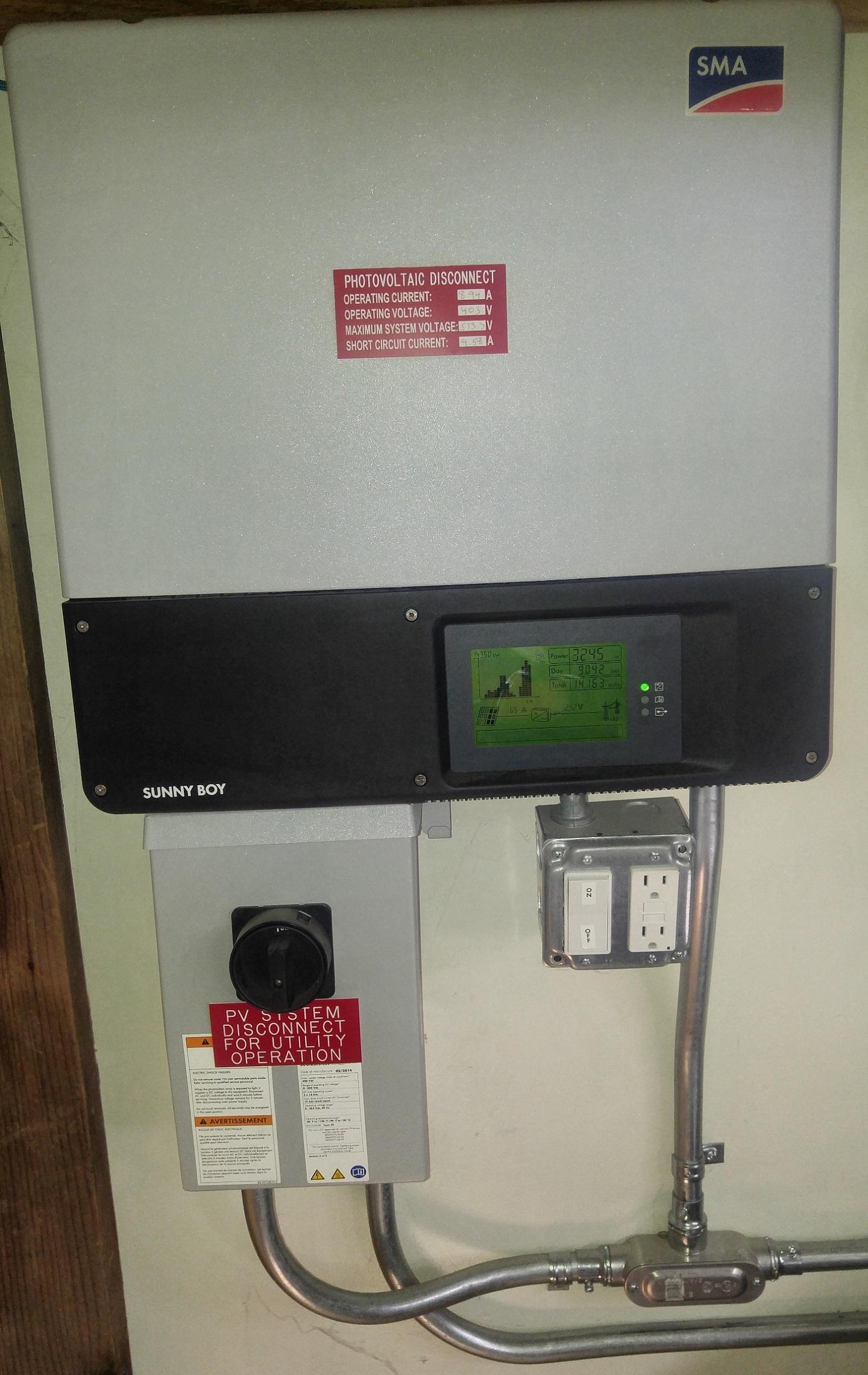 Residential Solar Power Central Inverter