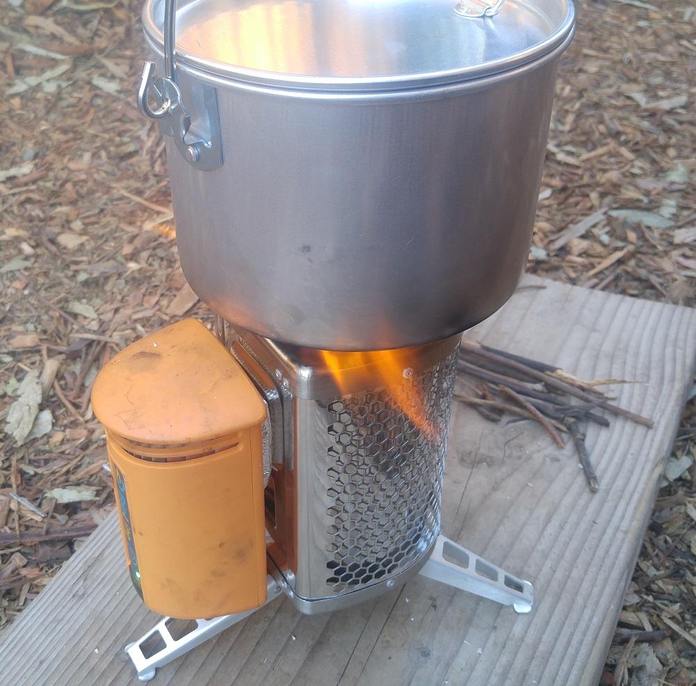 Survival Stove Boiling