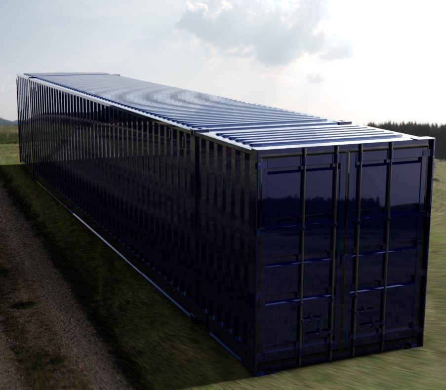 53ft ISO Shipping Container 3D CAD Model